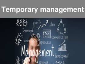 TEMPORARY MANAGEMENT - consulenza aziendale